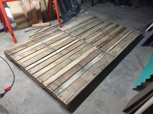 Ripped apart and put back together pallets